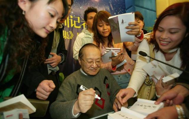 Demand for Jin Yong's audiobooks soars in China-中华时报